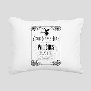 Witches Ball Rectangular Canvas Pillow