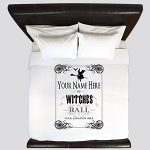Witches Ball King Duvet