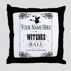 Witches Ball Throw Pillow