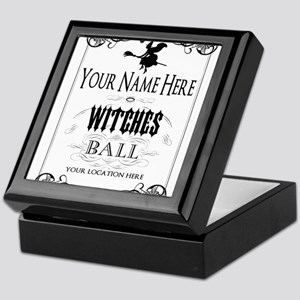 Witches Ball Keepsake Box