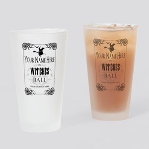 Witches Ball Drinking Glass