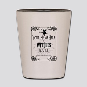 Witches Ball Shot Glass