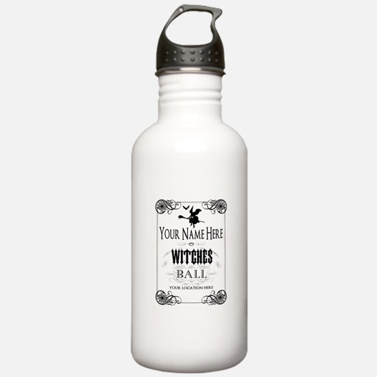 Witches Ball Water Bottle