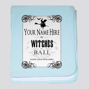 Witches Ball baby blanket