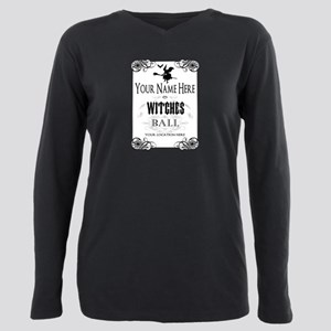 Witches Ball Plus Size Long Sleeve Tee