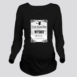 Witches Ball Long Sleeve Maternity T-Shirt
