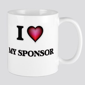 I love My Sponsor Mugs