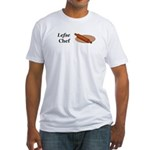 Lefse Chef Fitted T-Shirt