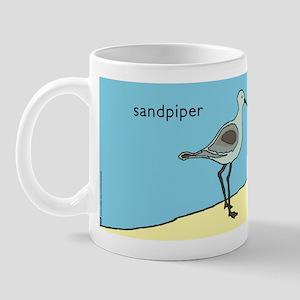 sandpiper   sanibel island Mug