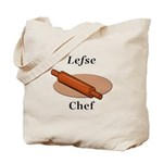 Lefse Chef Tote Bag