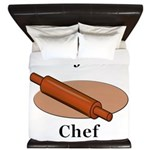 Lefse Chef King Duvet