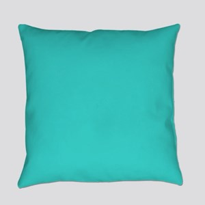 abstract beach turquoise teal Everyday Pillow