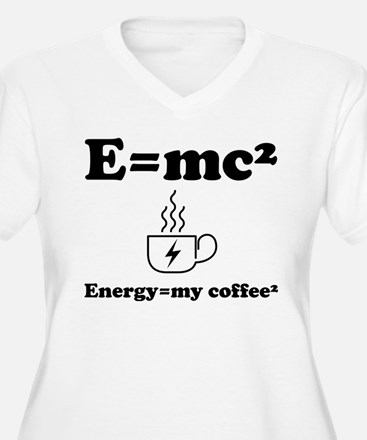 Coffee Energy Plus Size T-Shirt