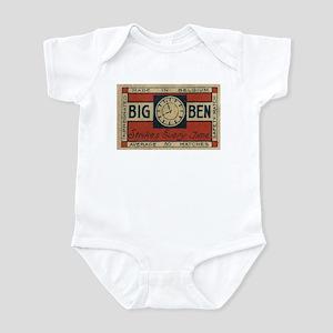 Big Ben Matchbox Label Infant Bodysuit