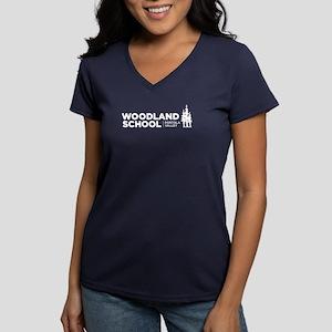 Women's V-Neck T-Shirt (navy)