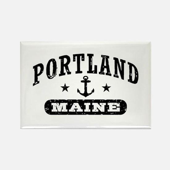Portland Maine Rectangle Magnet