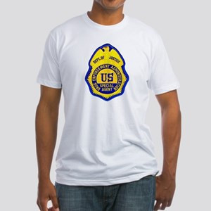 DEA Special Agent Fitted T-Shirt
