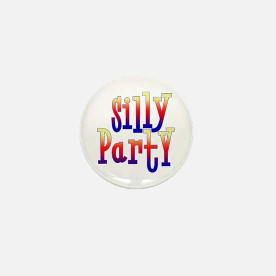 Silly Party Mini Button