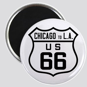 US Route 66 Chicago to L.A. Magnets