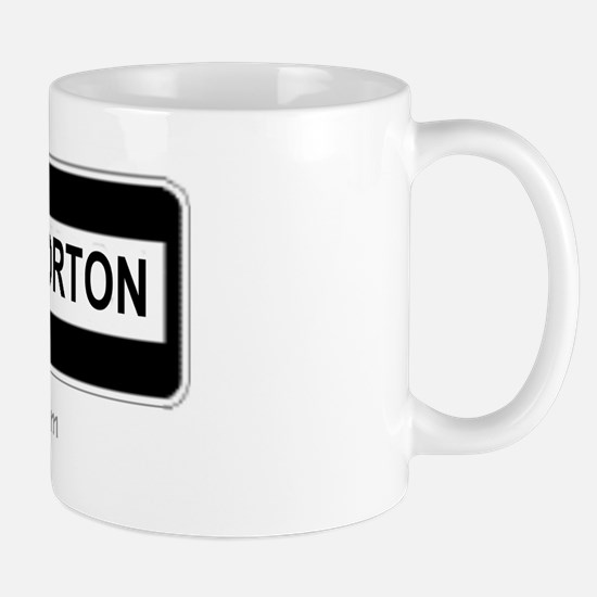 Throckmorton Sign Mug