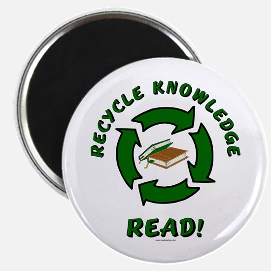 Recycle Knowledge Magnet