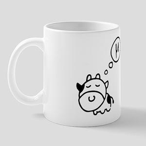 Cow says 'mu' Mug
