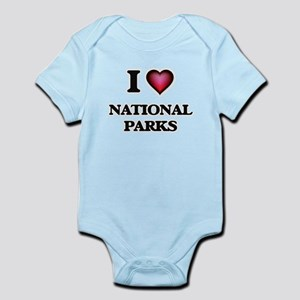 I Love National Parks Body Suit