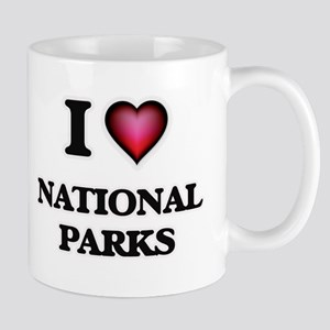 I Love National Parks Mugs