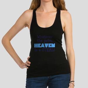 Heaven Is A Steal Racerback Tank Top
