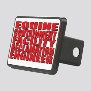 Equine Engineer Rectangular Hitch Cover
