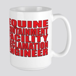 Equine Engineer Large Mug
