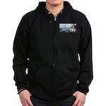 Ocean Ranger Zip Hoodie (dark)