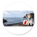 Ocean Ranger Round Car Magnet
