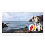 Ocean Ranger Sticker (Rectangle)
