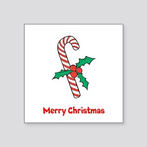 Candy Cane Personalized Sticker
