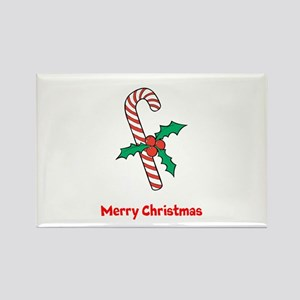 Candy Cane Personalized Magnets