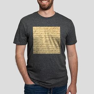 shabby chic french script T-Shirt