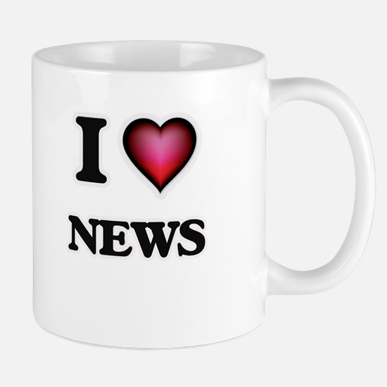I Love News Mugs