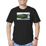 Boogie Ranger Men's Fitted T-Shirt (dark)