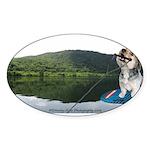 Boogie Ranger Sticker (Oval 50 pk)
