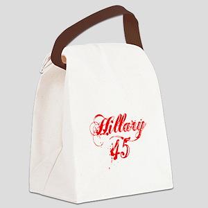 Hillary 45 Canvas Lunch Bag