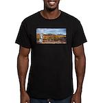 Range Ranger Men's Fitted T-Shirt (dark)