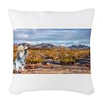 Range Ranger Woven Throw Pillow