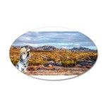 Range Ranger 35x21 Oval Wall Decal