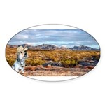 Range Ranger Sticker (Oval 50 pk)