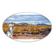 Range Ranger Sticker (Oval)
