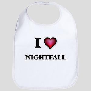 I Love Nightfall Bib