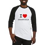 I Heart Deerfield Baseball Jersey