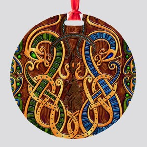 Harvest Moon's Viking Dragons Ornament