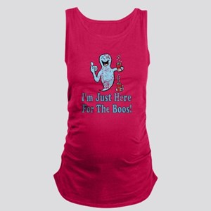Vintage I'm Here for the Boos Maternity Tank Top